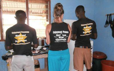 Terug in de tijd met Patricia, accommodatie eigenaar in Ghana
