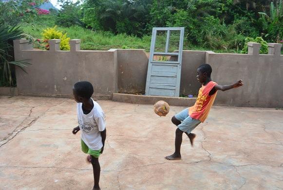 vrijwilliger in Ghana