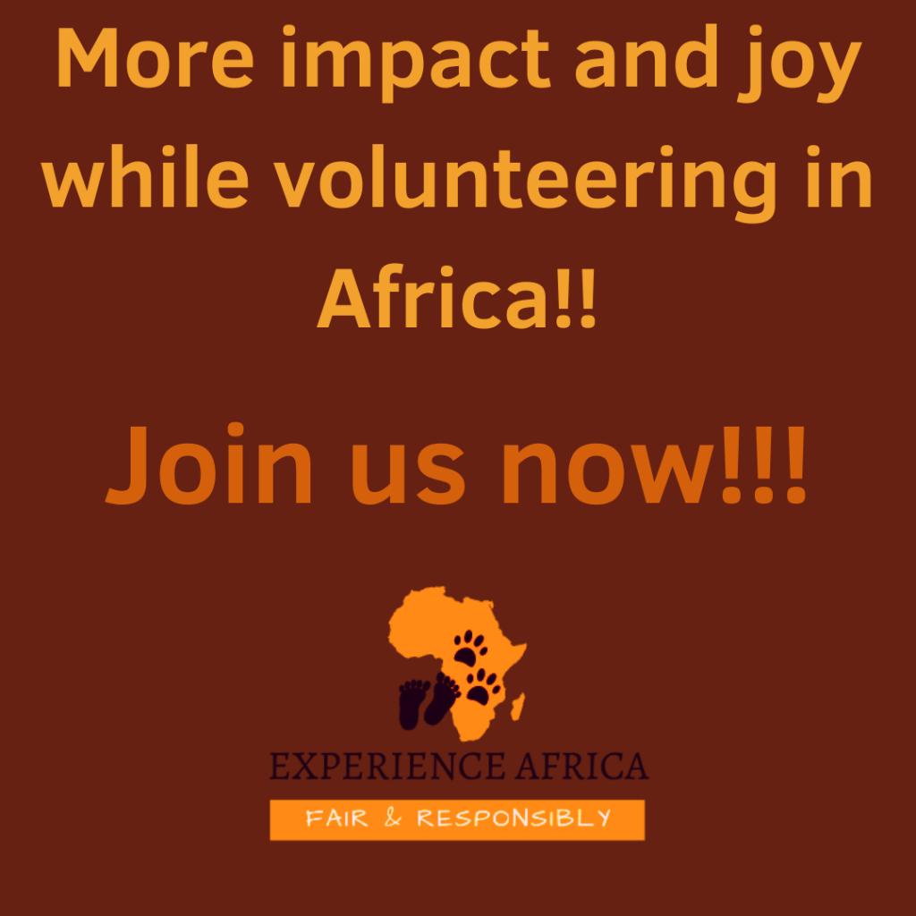 responsible volunteering in Africa