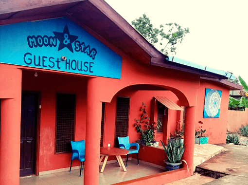 Moon&star guesthouse Ashanti Ghana