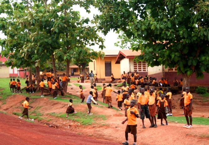 vrijwilligerswerk in Ghana past niet in onze duurzame missie