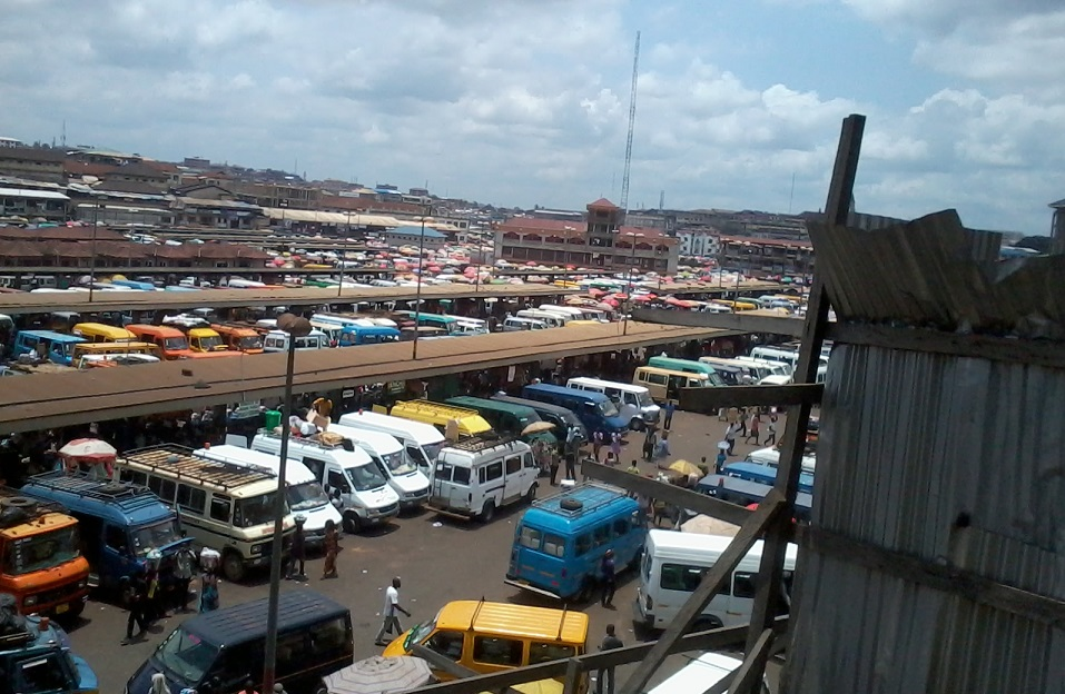 travelling in Ghana, Kumasi station