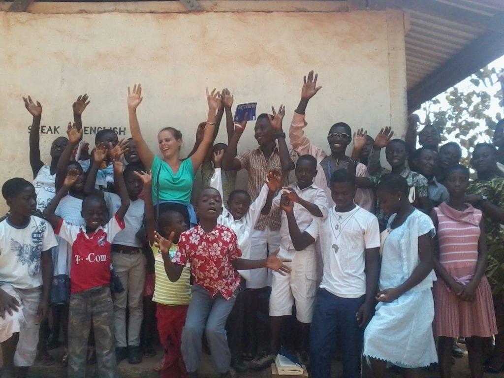 Volunteering in Africa, volunteer in Banko Ghana