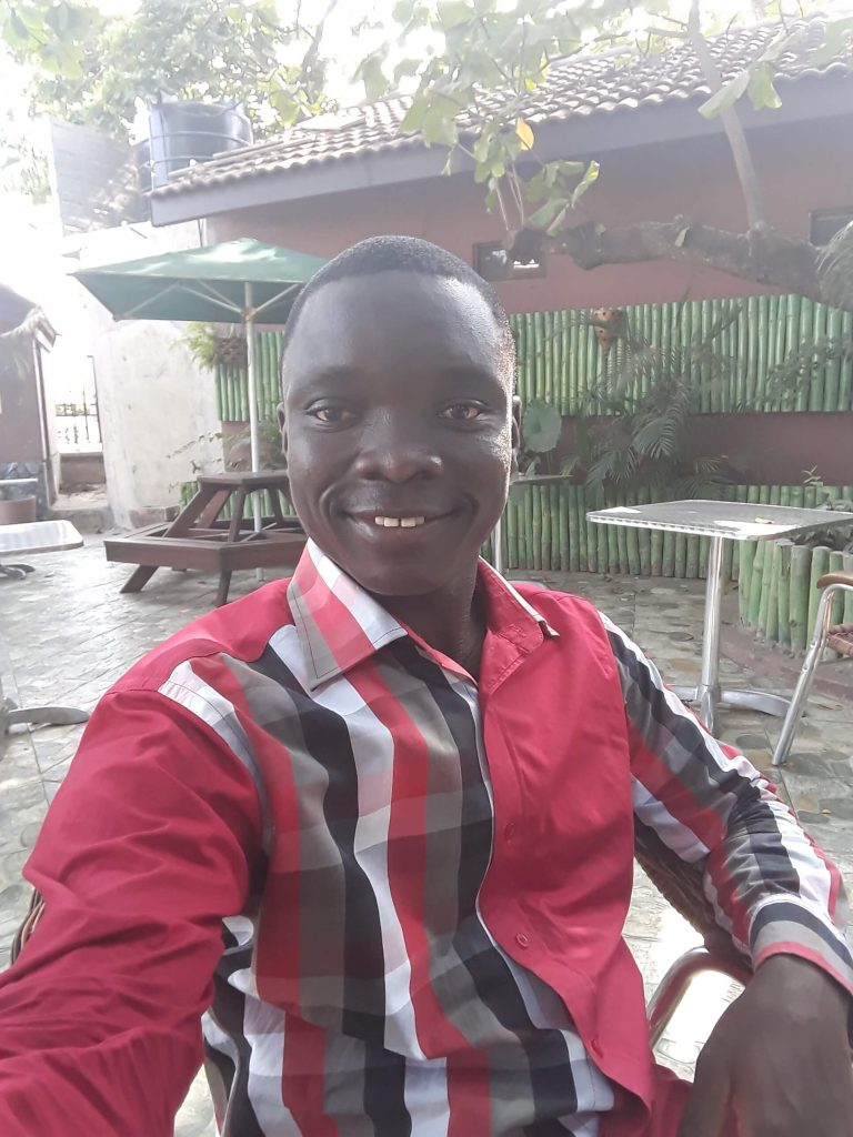Assan Dickson, your tourguide for today in Kumasi, the cultural centre of Ghana