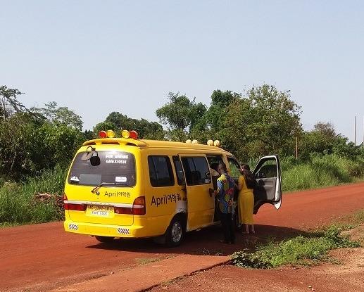 tro tro in Ghana