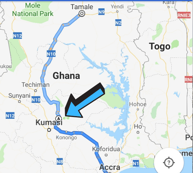 Moon&Star is located on the way to the north of Ghana, so include us in your planning