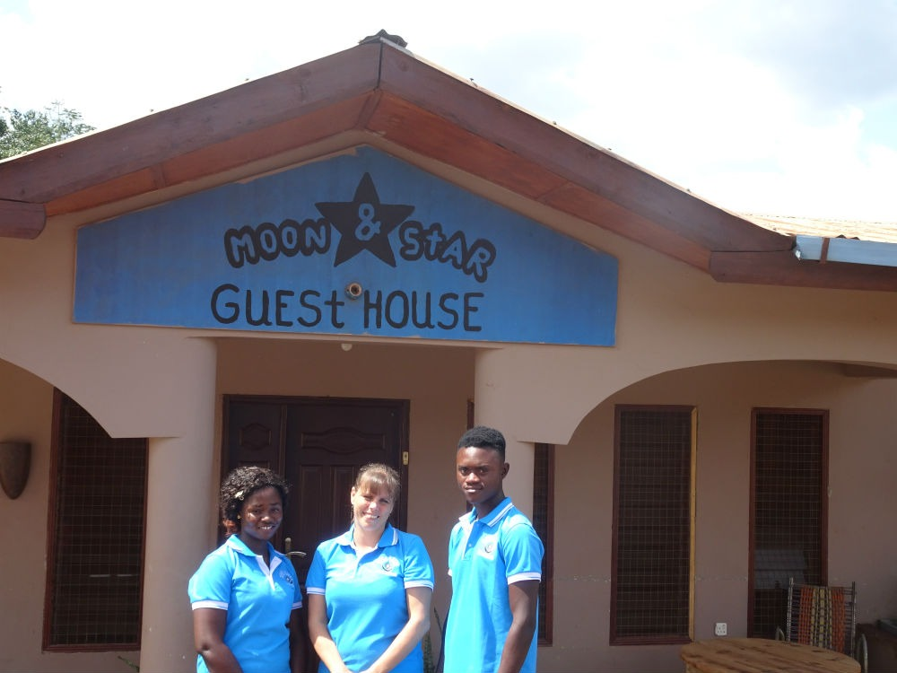 Moon&Star guesthouse, a lodge in Ghana