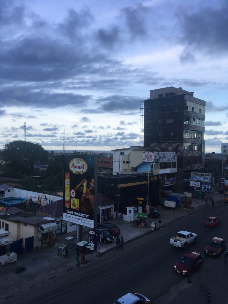 osu at Accra,has lot's of working spaces for digital nomads in Ghana