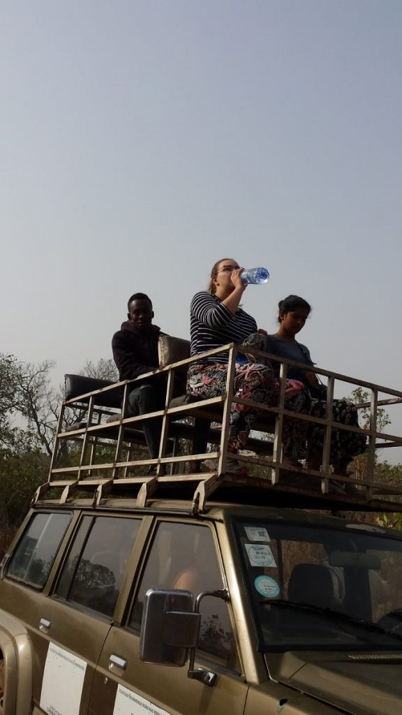 jeep safari in Ghana