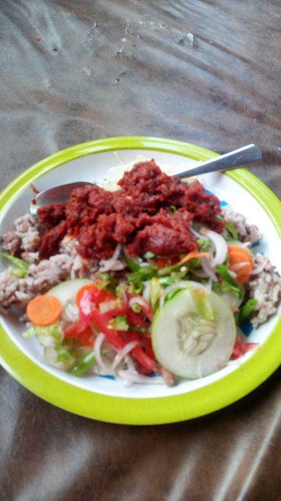 Ghanaian food, waakye