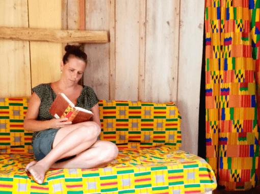 Patricia Zoer, Nederlandse eigenaresse van Moon&Star guesthouse in Ghana