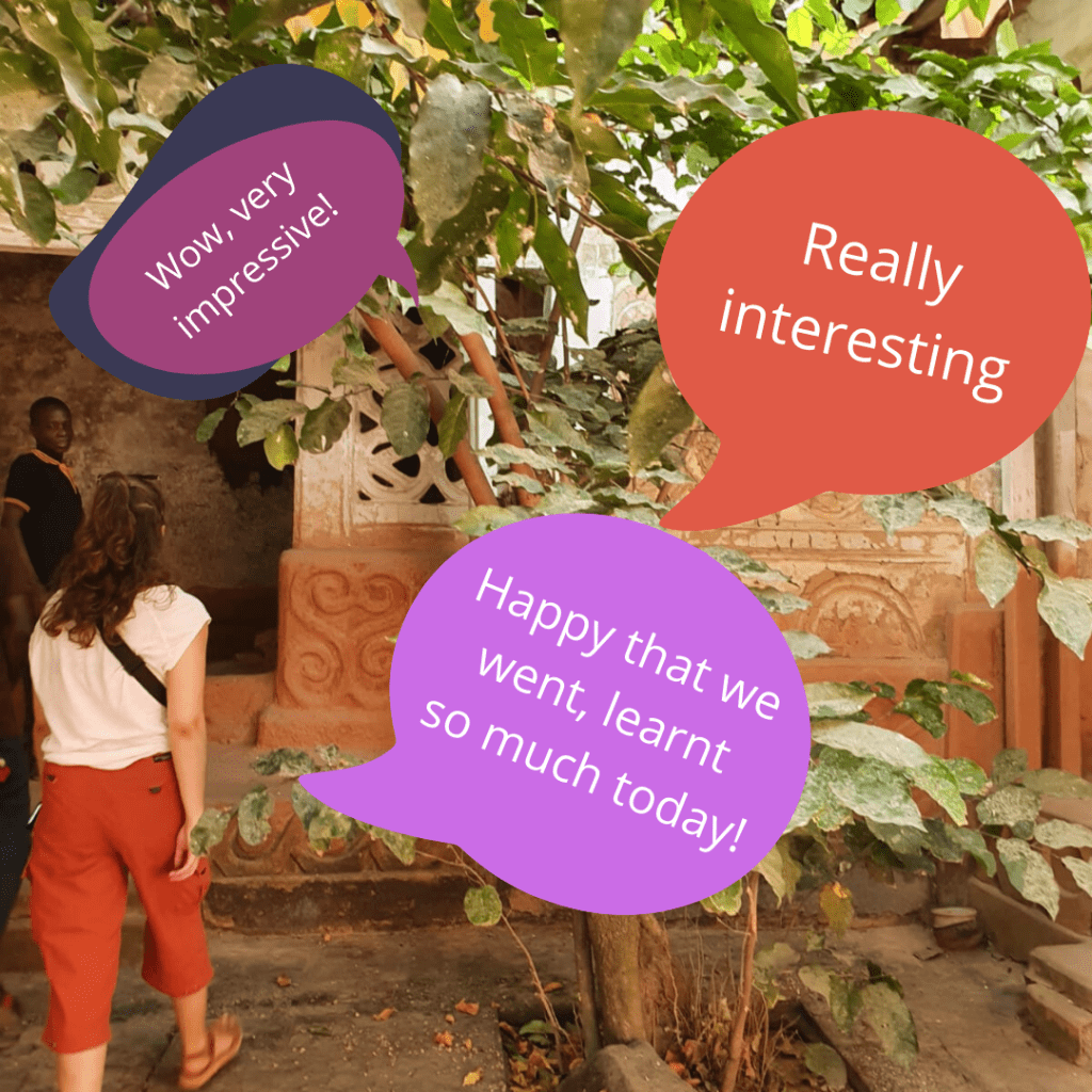 feedback from our guests about a visit to Bodwease traditional shrine