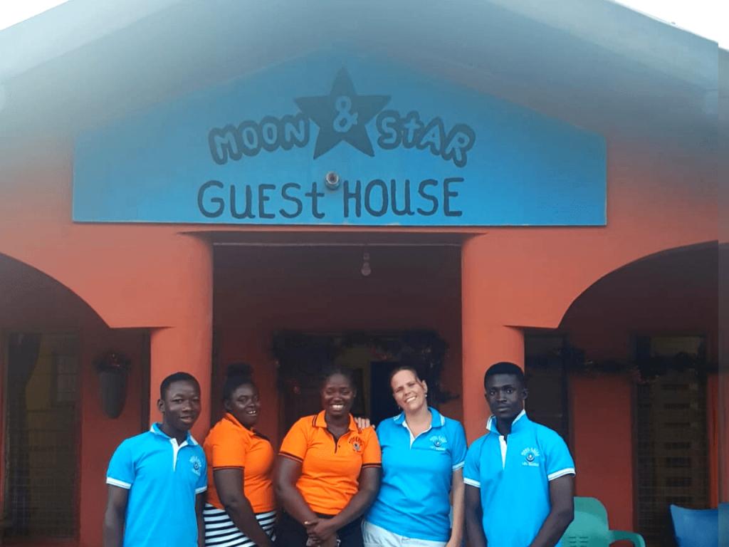 team Moon&Star staat voor je klaar wanneer je vrijwilligerswerk in Ghana doet