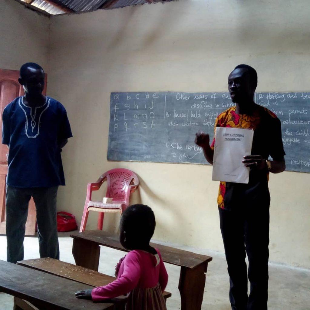 workshop Banko methodist school