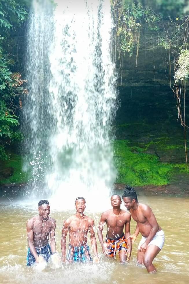 Begoro watervallen