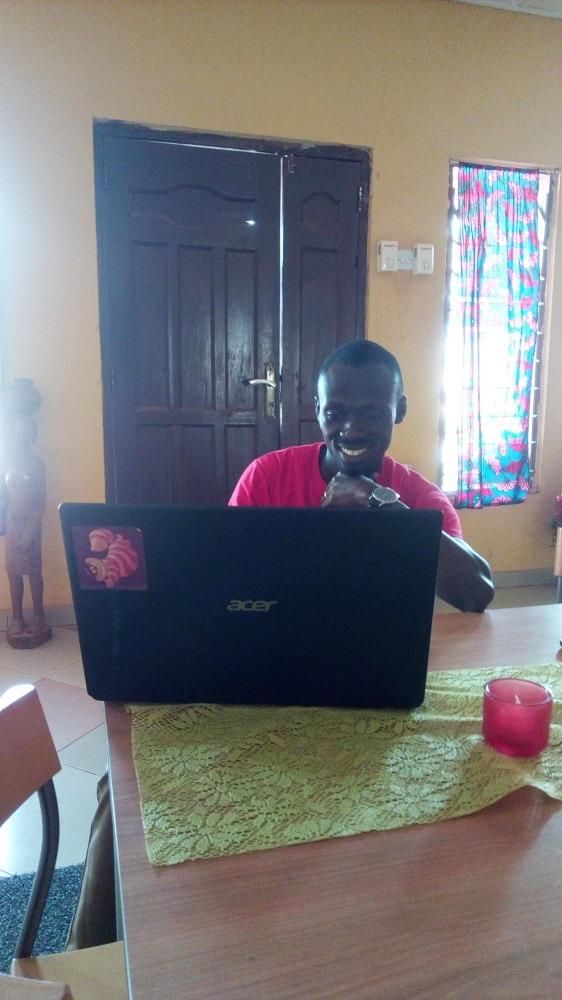 een geschikte werkplek voor digitale nomaden in Ghanaomads