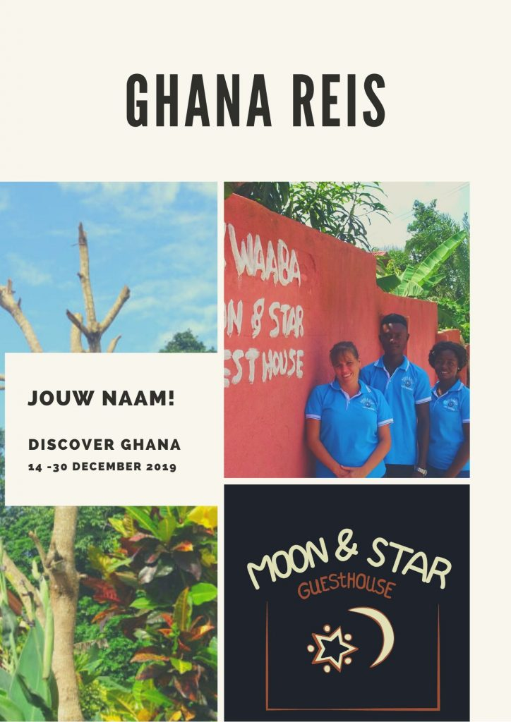 Team Moon&Star organiseert graag jouw reis naar Ghana