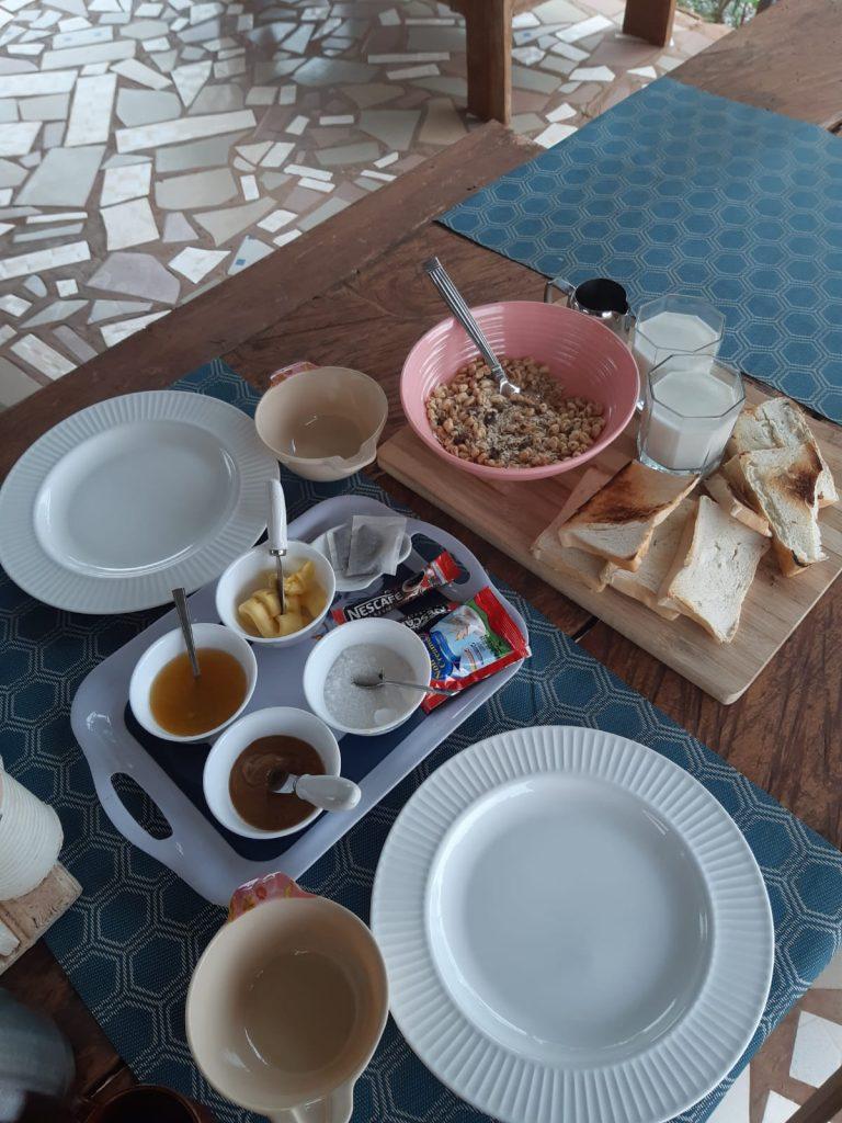 Moon&Star guesthouse ontbijt