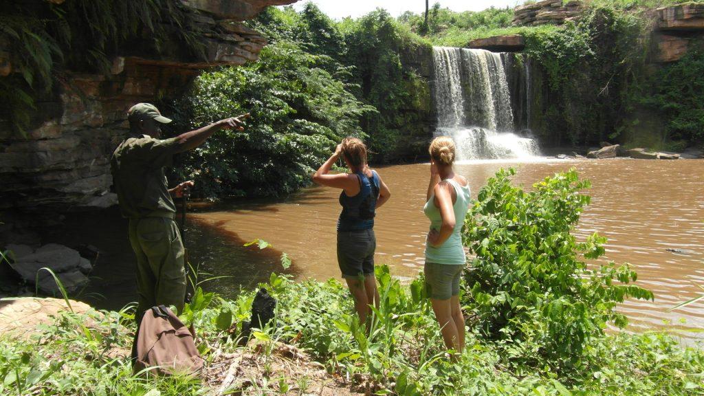 watervallen in Ghana