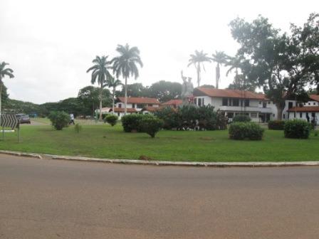 Staat van de wegen in Ghana