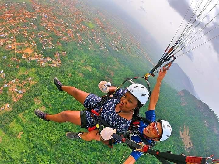 paragliden in kwahu