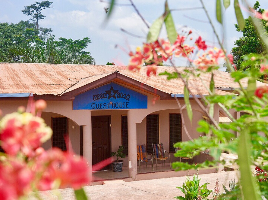 accommodatie in Ghana, Moon&Star guesthouse