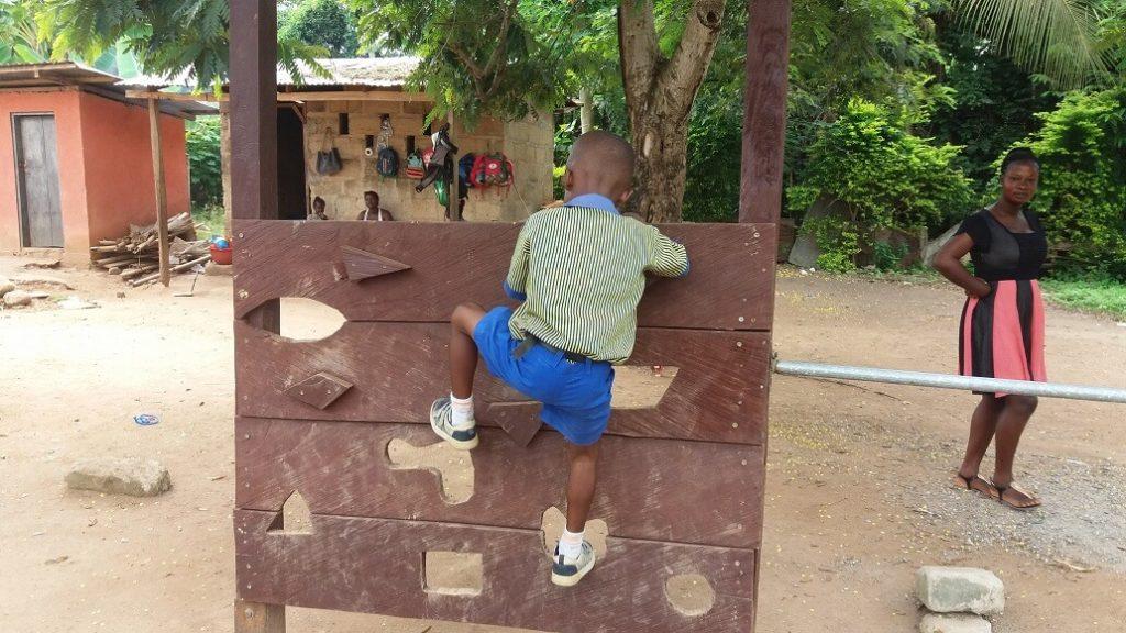 een van de projecten die we steunen, de Methodist school in Banko