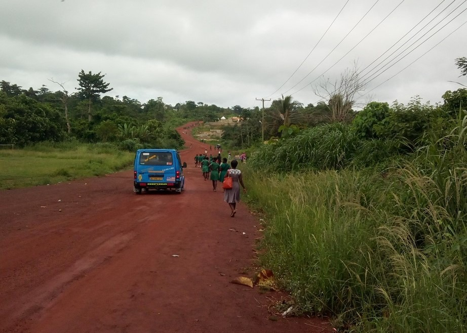 Ghana lokaal vervoer