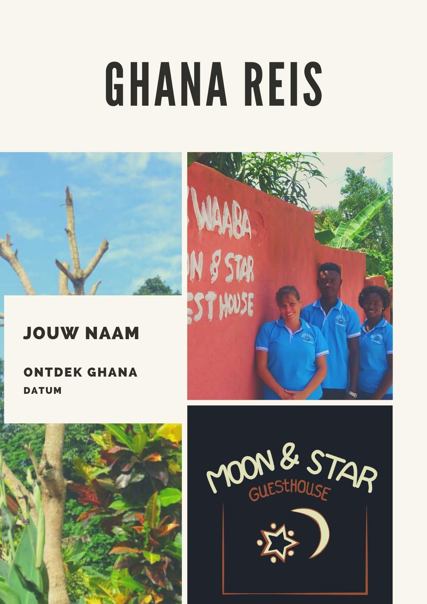 Rondreis Ghana e book